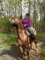 Horse Back Riding at Skyland Resort on Skyline Drive